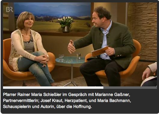Pfarrer Schießler BR Talk, 28.3.2013