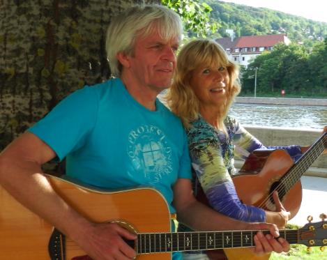 GAbi und Herbert Gitarre