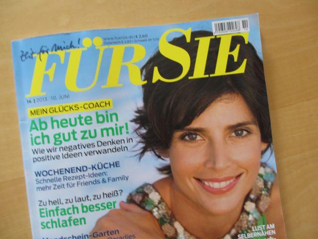 """Zeitmomente """"Für Sie"""" am 10.5.2013"""