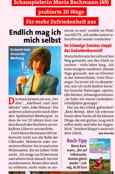 """Frau von heute"" – 4.7.2013"