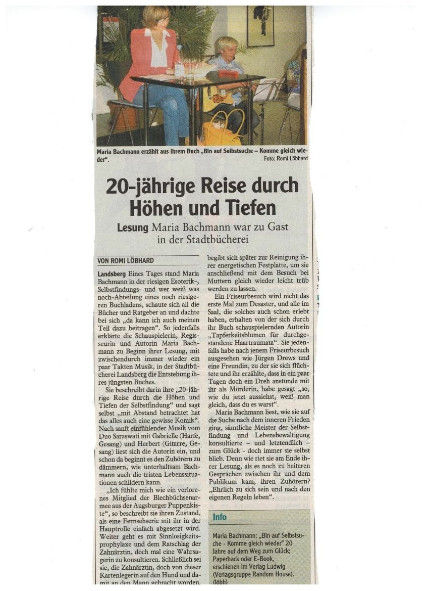Landsberg Zeitung 4.10.2013