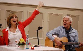 """musikalische Lesung """"Bin auf Selbstsuche"""" am 25.7. im Riegenhof/Mainhardt"""