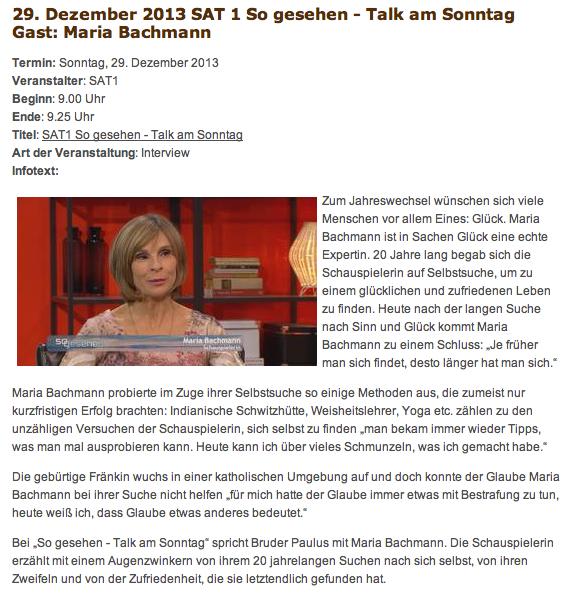 So gesehen - der Talk 29.12.2013