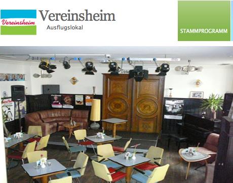 Musikalische Lesung im Vereinsheim Schwabing, Pfingstmontag, 9.6. 19.30 Uhr