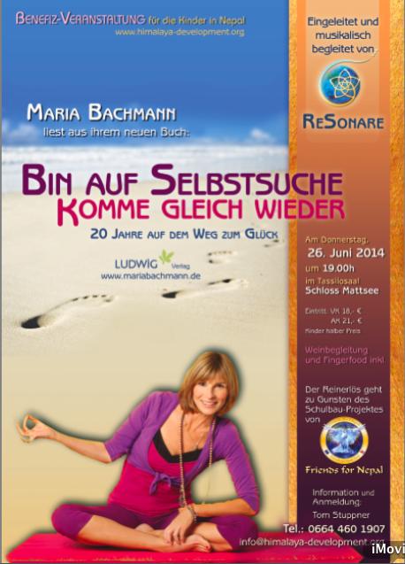 """Video Lesung """"Bin auf Selbstsuche"""" mit """"Resonare"""" am 26.06.2014"""
