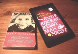 Der Panikrocker in der TB-Ausgabe von 1992 und 2014 als eBook bei dotbooks