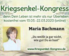 13.03. – 22.03.2020 Talk und Lesung online